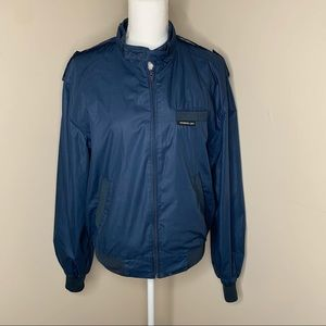 VINTAGE MEMBERS ONLY Navy Jacket